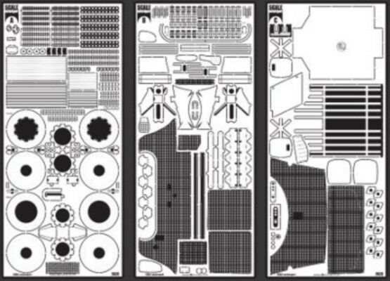 SCALE MOTORSPORT 1 12 Enzo Ferrari Photo-Etch Detail Set For TAM SMO8085