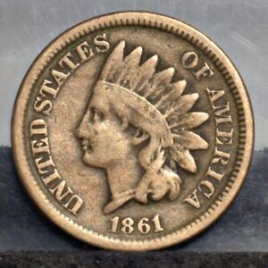 1861-Indian-Cent-Fine-20658