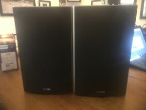 POLK AUDIO MONITOR 30 (Bookshelf Speakers) Pair Black