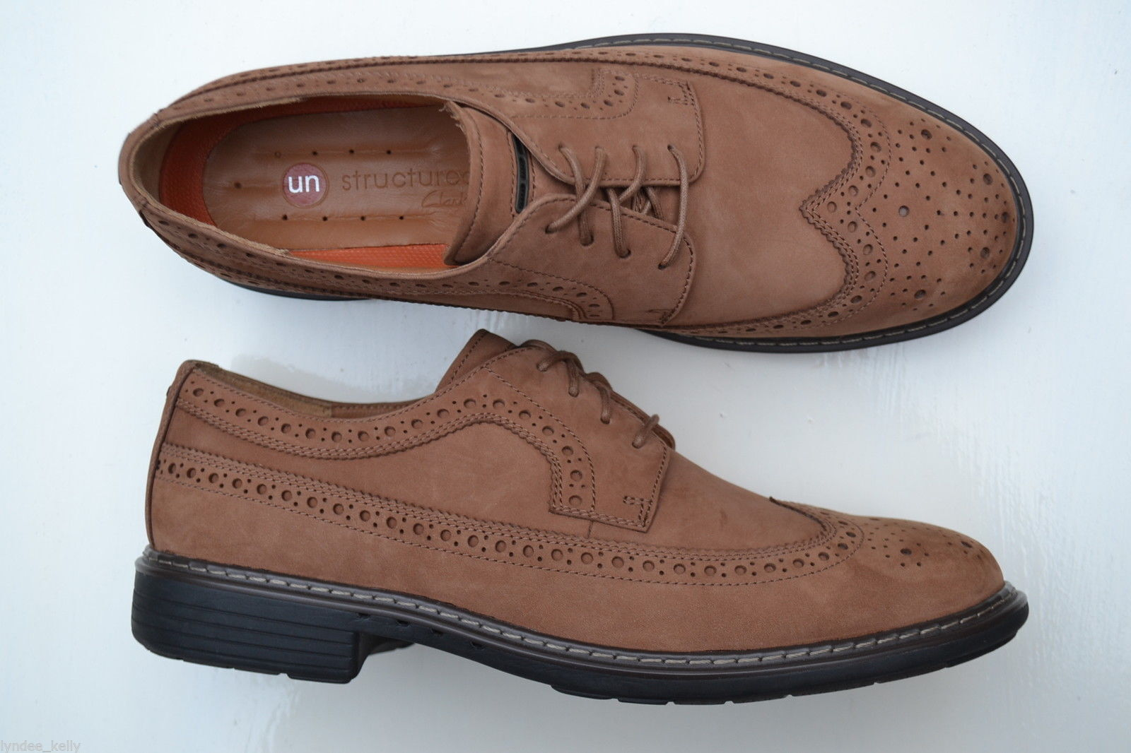 Clarks LIMIT  Mens ** UN LIMIT Clarks , SMART BROGUE NUBUCK ** EXTRA SOFT ** UK 7.5,8,10,10.5 302fa0