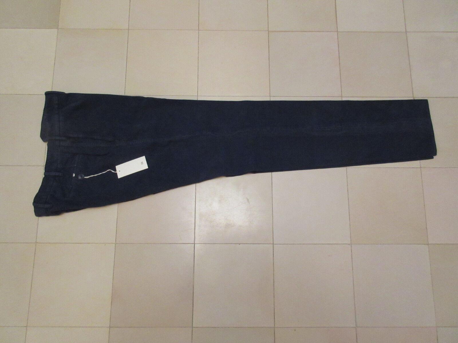GTA il Pantalone-Uomo Pantaloni - 52-navyblu-NUOVO