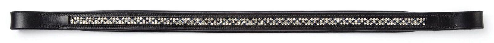 Caldene Sapphire Diamante Browband-For Horses and Ponies-Havana-Full Size-BN