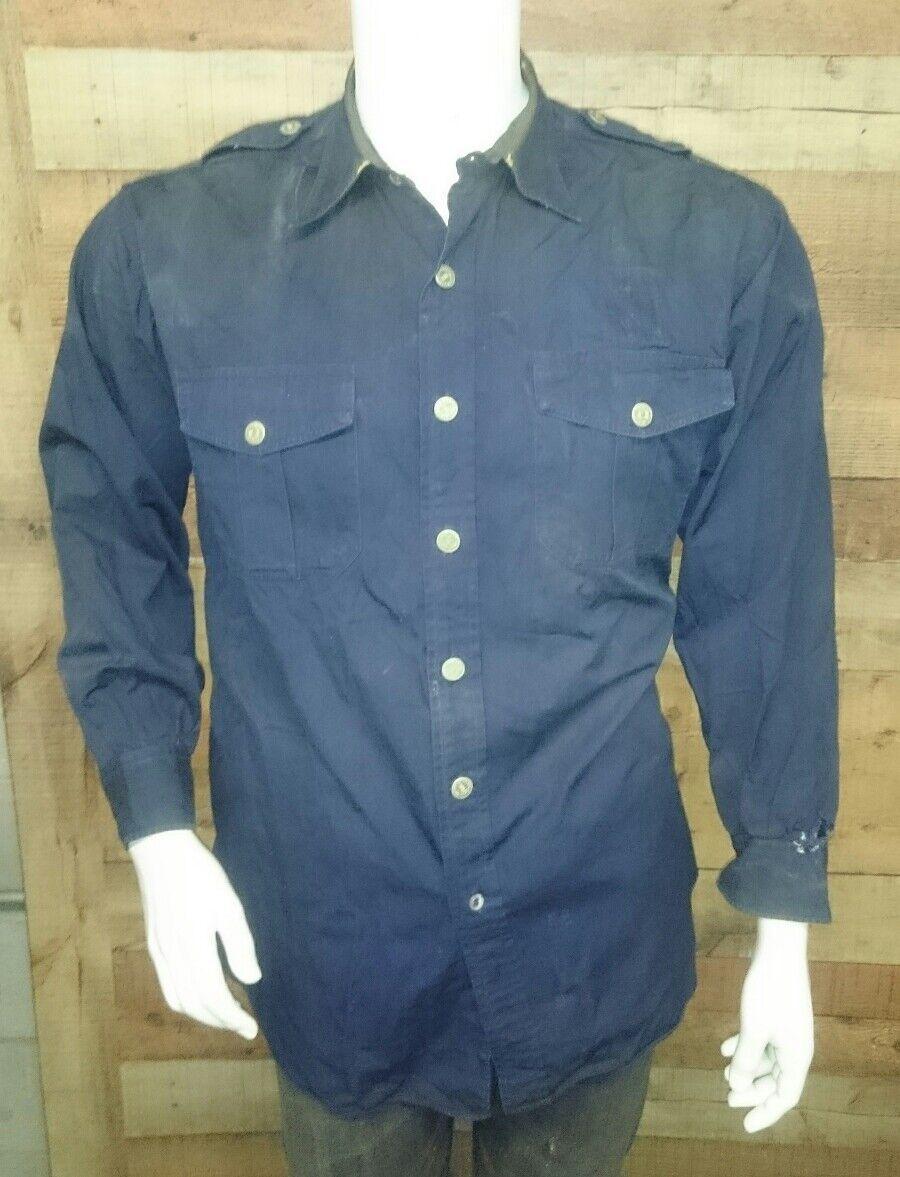 Katten & Sons Burtons Irish USA FIRE Department Fit Mens Shirt Size on pics