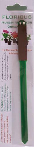 3 x FLORICUS grün Pflanzen Feuchtigkeitsüberwachung Gießanzeiger Gießmelder