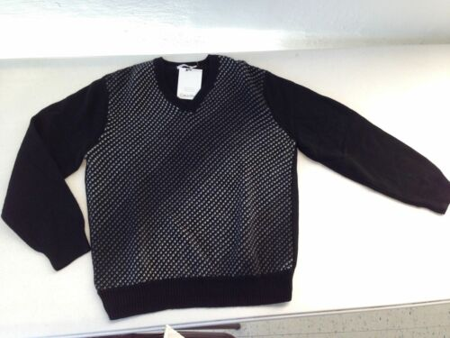Nwt Taglia Msrp maglione L con V 118 nero Calvin collo Klein S a Large Maglione gTgcw1