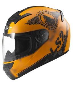 LS2 Helmets - FF352 - Rookie Fan Orange - Full Face Imported Motorcycle Helmet