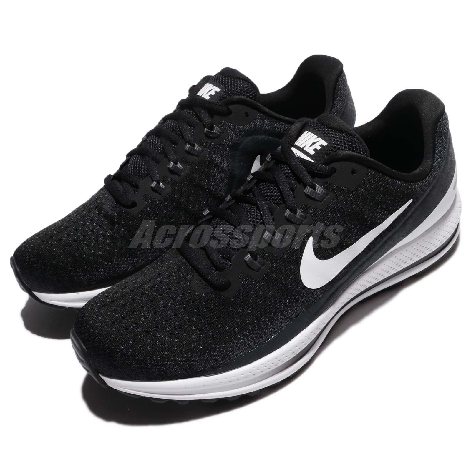 Nike Air Zoom Vomero 13 Noir blanc Anthracite Hommes Running Chaussures 922908-001