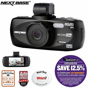 "Nextbase 402G Professional Car Dash Dashboard Video Camera 2.7"" 1080P HD DVR Cam"