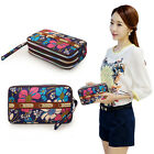 017 Women's Leather Clutch Wallet Long Card Holder Case Purse Handbag Zipper