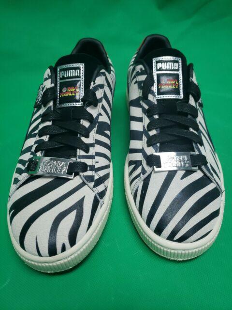 timeless design 1808b 183aa Mens 9.5 PUMA Suede Classic Kiss Paul Stanley Shoes Zebra Gene Simmons
