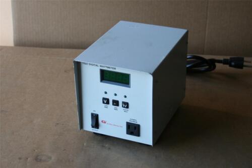 Global Specialties 1522 Digital Wattmeter