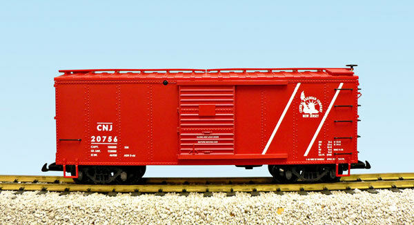 USA Trains G Scale R19116A Central New Jersey Red