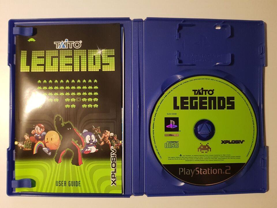 Taito Legends, PS2
