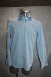 Chemise Hugo Boss Regular Fit Taille M Col 40 Camisa/camicia/dress Shirt 15 3/4
