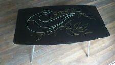 TABLE BASSE  DESIGN VINTAGE signée J. VERNAY