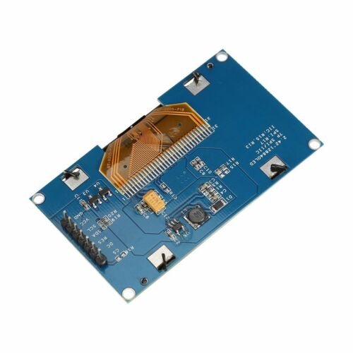 2.42inch OLED Display SSD1309 128x64 SPI//IIC Serial Port Blue For Arduino C51 SD