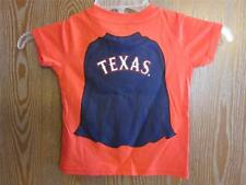 New-Minor Flaw- Texas Rangers Toddlers size 2T Majestic Home Run Hero Shirt