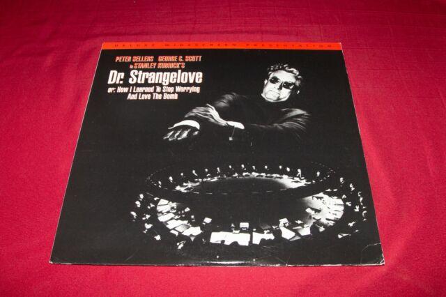RARE ~ Dr. Strangelove ~ Stanley Kubrick ~ Peter Sellers ~ WS Laserdisc Edition