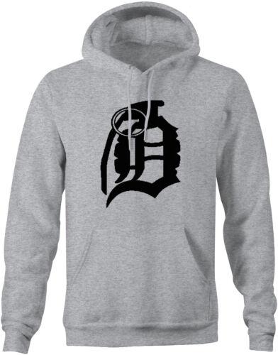 Hoodie Sweatshirt Da/' Bomb Detroit Michigan