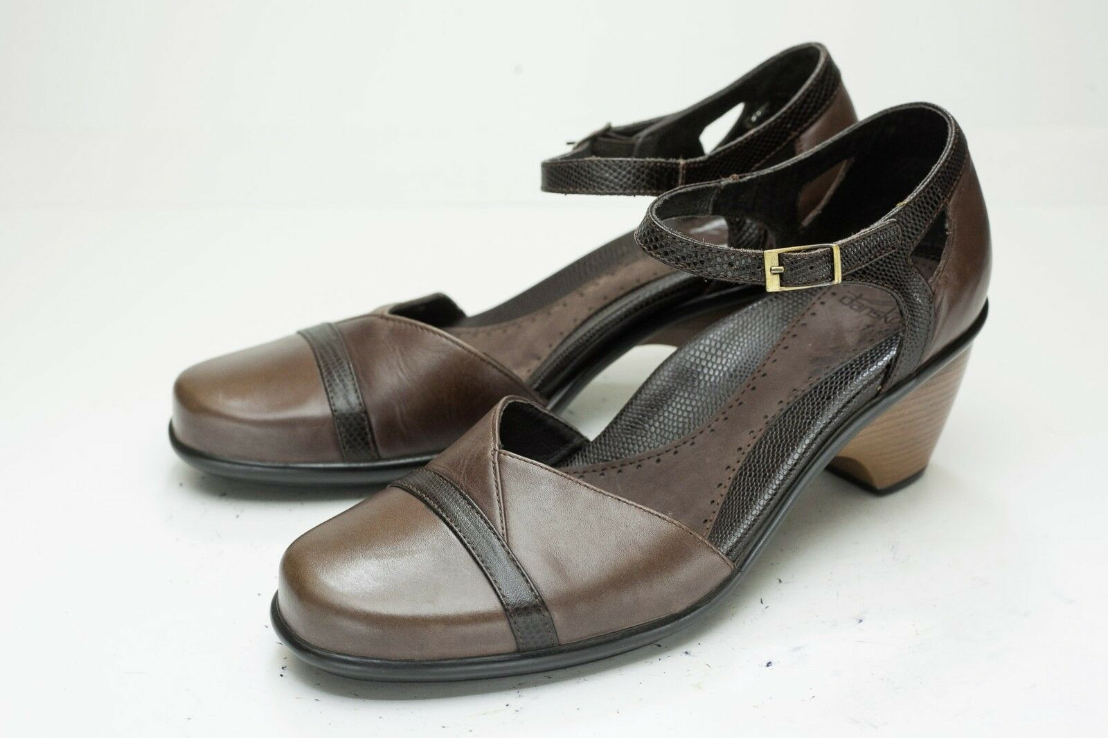 Dansko 8.5 9 Brown Heels