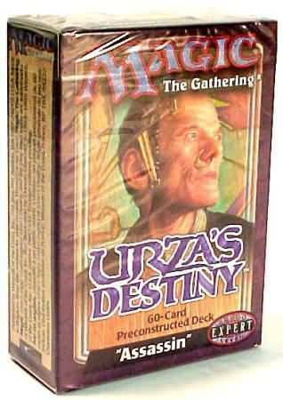 ENGLISH FACTORY SEALED NEW MAGIC ABUGames Urza/'s Destiny Theme Deck Assassin
