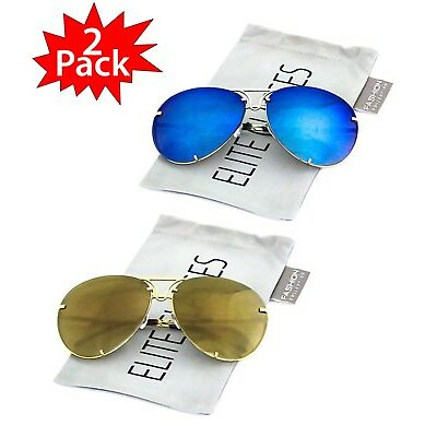 04e63fa27c6 Oversized Designer Aviator Eyeglasses Gold Metal Frame Clear Lens Women  Glasses