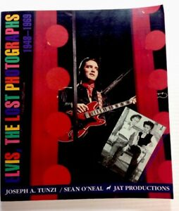 Elvis-the-Lost-Photographs-1948-1969-By-Joseph-A-Tunzi-Sean-O-039-Neal-1995-PB