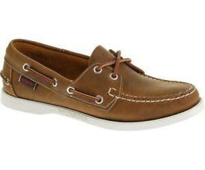 pour chocolat Sebago Docksides femme en cuir bateau Chaussures lacets à 8RqCHxc