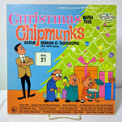 Chipmunks Christmas.The Chipmunks Christmas With The Chipmunks Mlp 1216 696543073474 Ebay