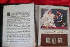 The Royal Wedding Philatelic Panels Collection, Charles & Diana.