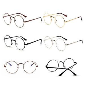 476812b1efcb monture de lunette Ronde Métal Cadre lentille Vintage Rétro Mode ...