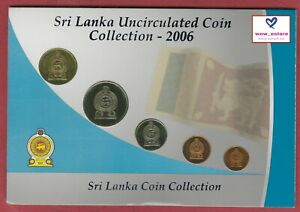 SRI-LANKA-UNCIRCULATED-COIN-COLLECTION-2006-UNC