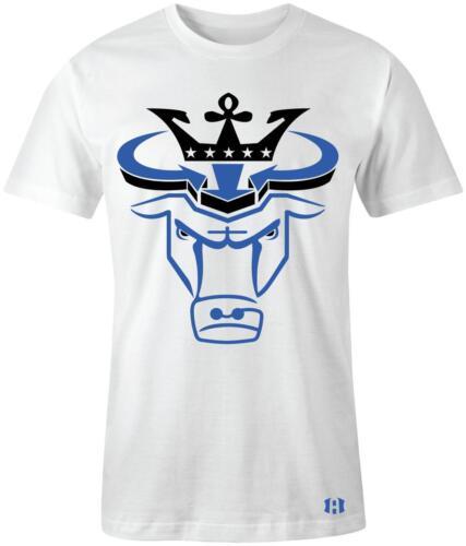 "/""Crown Bull/"" T-shirt to Match Retro /""GAME ROYAL/"" 1/'s"