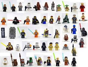 You Pick; Jedi Yoda Luke Skywalker Sith Darth Vader LEGO Star Wars Minifigures