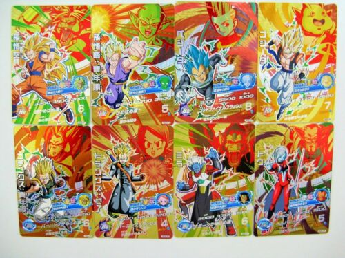 Dragon Ball Heroes GDM5 HGD5 CP SR R C 62 cards complete set