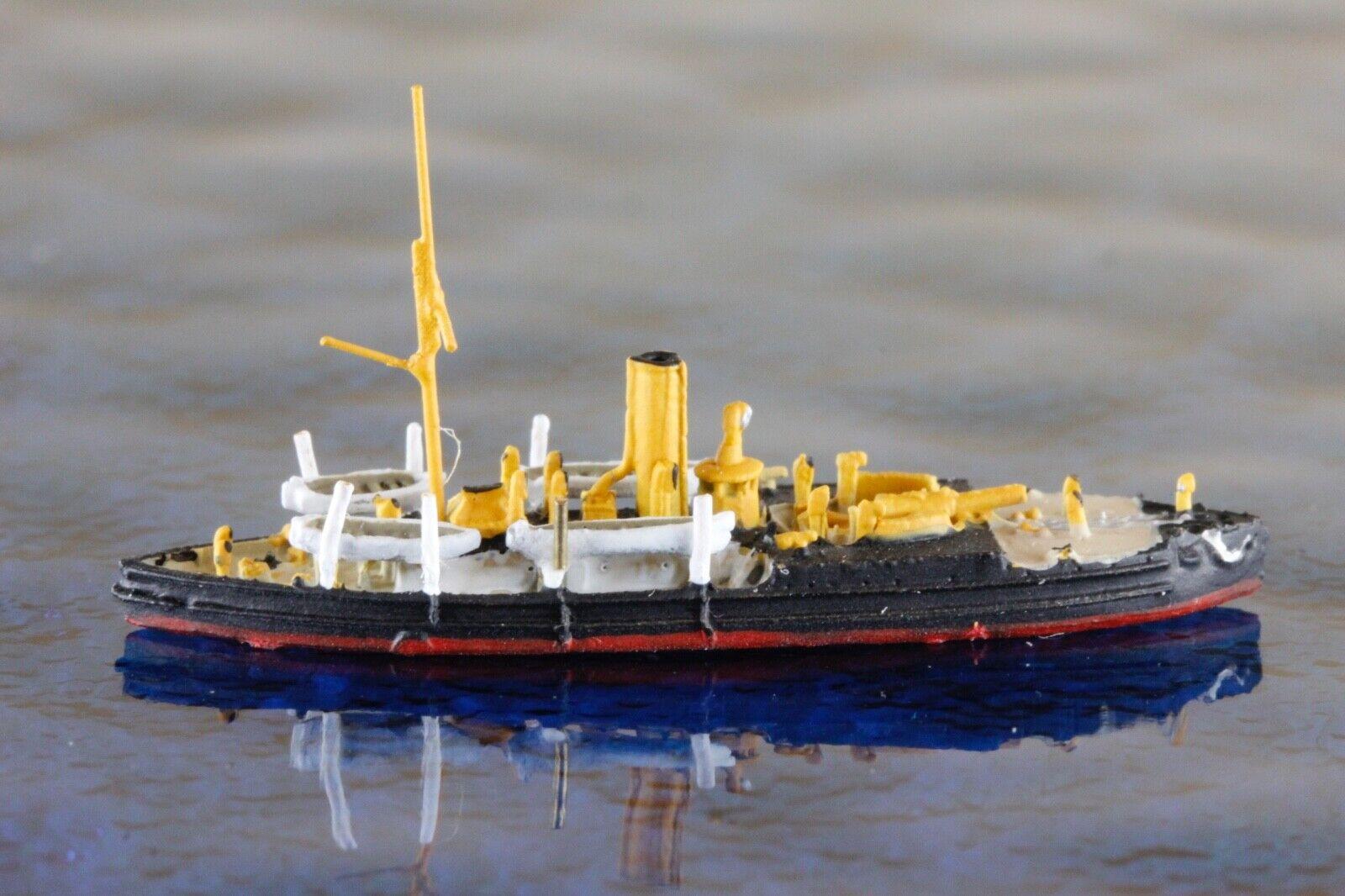 Avispa negra amarilla fabricante WDS K Liz 80a, 1 1250 barco modelo