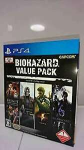 Mint-Capcom-Resident-Evil-Value-Pack-PS4-PlayStation-4-Free-Shipping
