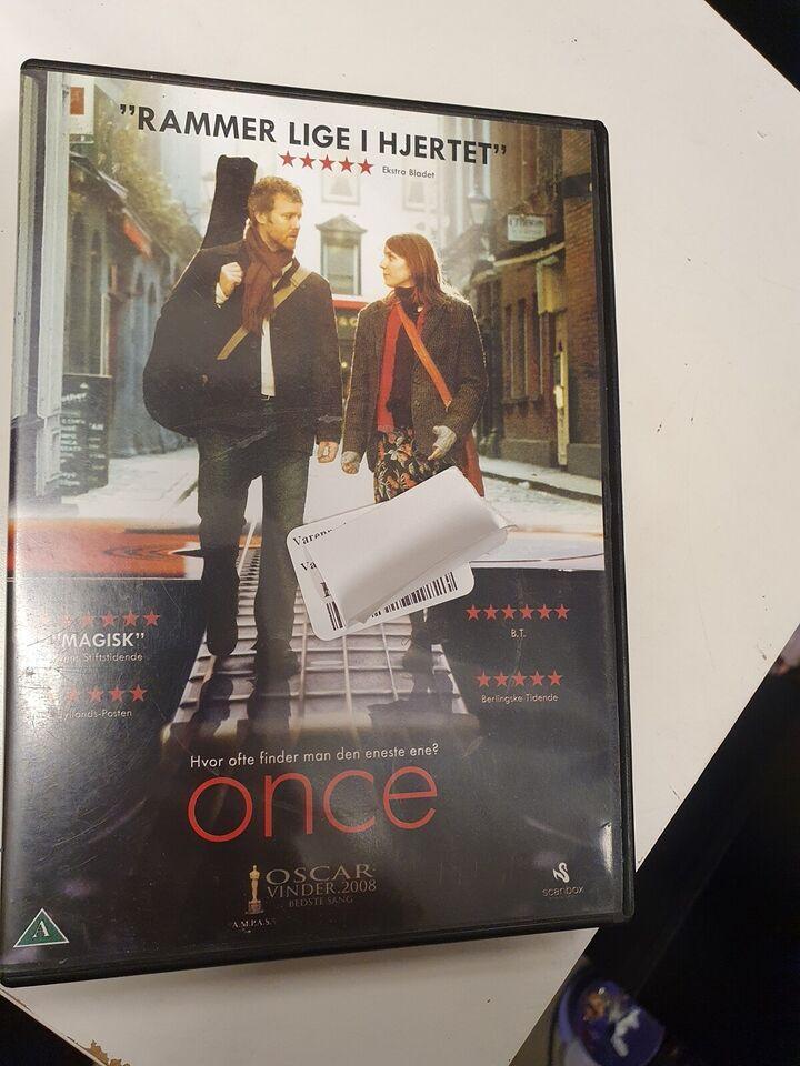 Once, DVD, drama