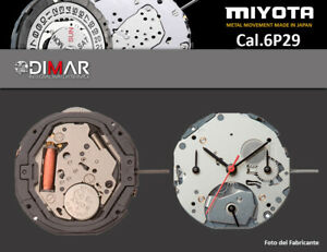 Movement Miyota Cal. 6P29
