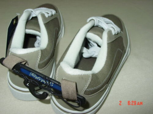 NWT Men/'s Faded Glory Tan Canvas Casual Shoes Comfort Footwear