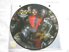 """MICHAEL JACKSON """"THRILLER"""" PICTURE DISC  25th ANNIVERSARY LP RECORD NEW! OOP!"""