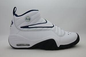 brand new 4b269 ffec6 Image is loading Nike-Air-Shake-Ndestrukt-White-Navy-Men-039-