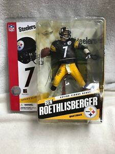 3d357f970 Image is loading Ben-Roethlisberger-Pittsburgh-Steelers-Series-11-McFarlane- Toys-