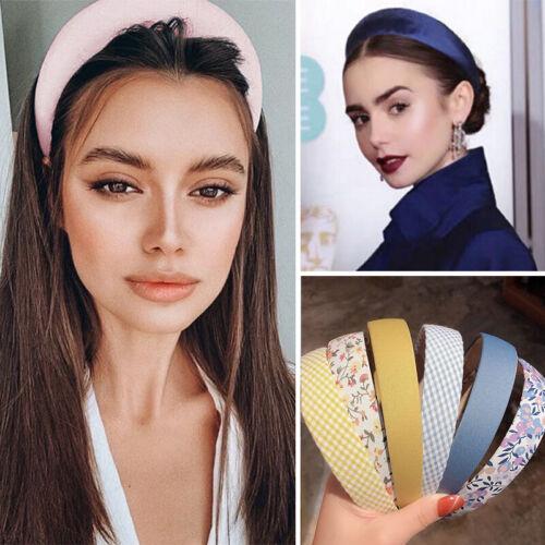 Vintage Women Girls DIY Wide Headband Headwear Headpiece Hair Band Hair Hoops