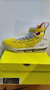 pretty nice f952e ff5d5 Details about NIKE LEBRON XVI 16 HARLEM STAGE HFR CI1145-70 size 15 Men /  16.5 women