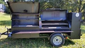 HogZilla-BBQ-Smoker-Cooker-Grill-Trailer-Tailgate-Food-Truck-Catering-Business