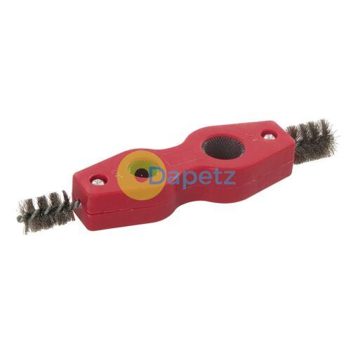 Copper Pipe Cleaner Tool Internal External wire Brush Plumbing Aluminium