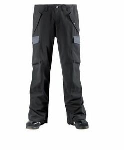 2015-NWT-MENS-ADIDAS-MAJOR-RIPPIN-IT-SNOWBOARD-PANTS-L-dark-grey-10k-recco