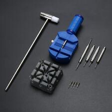 11pcs Wrist Watch Band Link Remover Strap Bracelet Pin Adjuster Repair Tool Kits