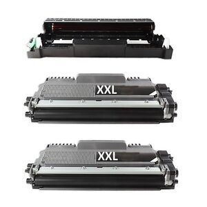 1-tambour-2-XL-Toner-compatible-pour-Brother-MFC-L-2720-DW-MFC-L-2740-CW